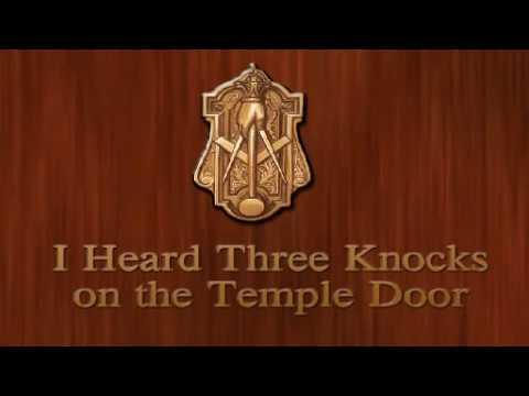 I Heard Three Knocks On The Temple Door Youtube