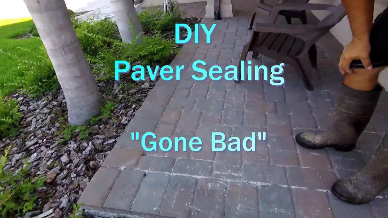 Paver Sealing In Lakeland FL