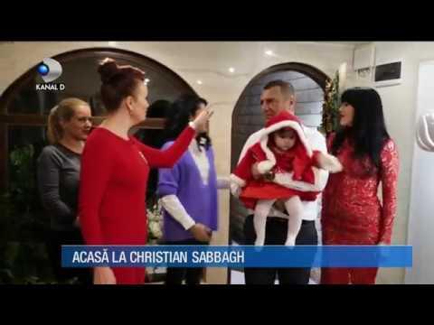 "Stirile Kanal D (17.12.2017) - Craciun de poveste in casa lui Christian Sabbagh! ""Casa de vedeta"""