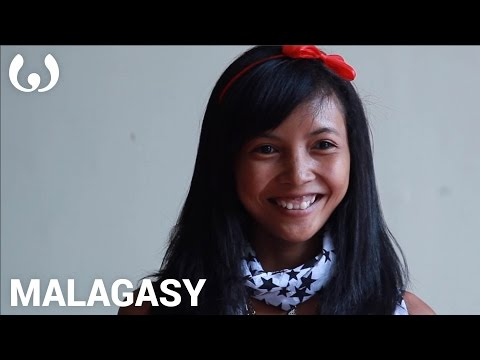 WIKITONGUES: Candy speaking Malagasy