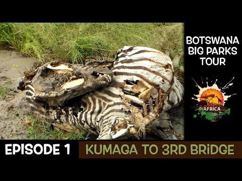 Botswana Big Parks Tour - (Kumaga to 3rd Bridge Episode 1)