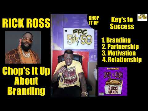 Rick Ross with his key's to success