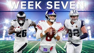 Fantasy Football: Week 7 Waiver Wire, Streamers and Starts