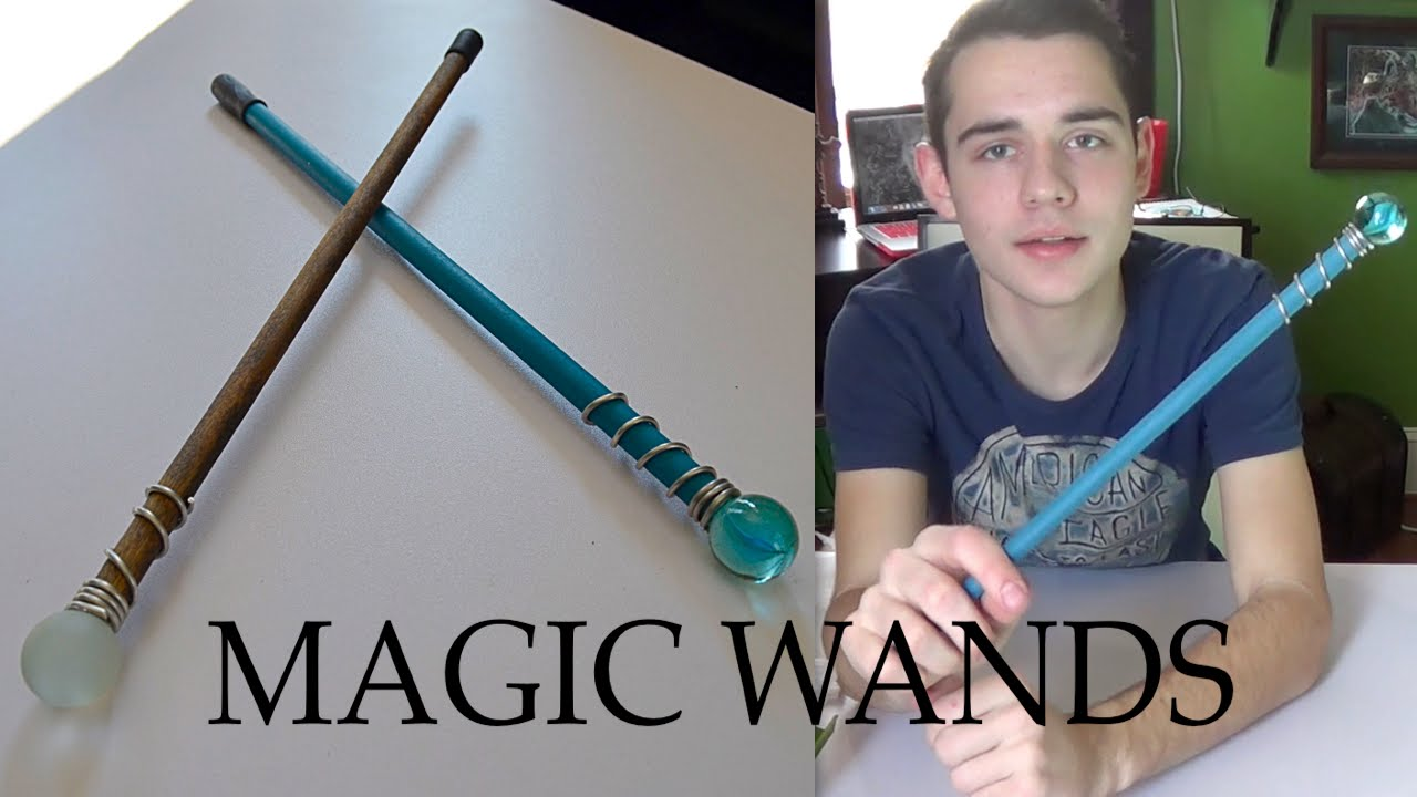 How to make a magic wand at home