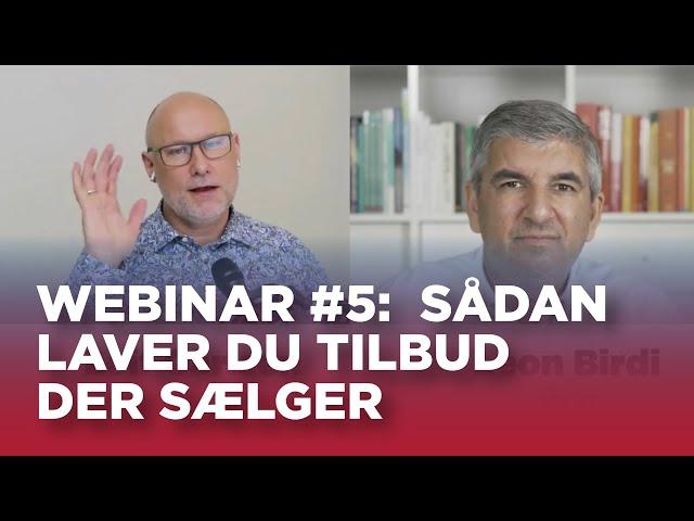 Sælger TV webinar #5: Sådan laver du tilbud, der sælger
