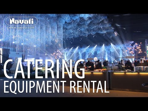 Catering Equipment Rental : Catering 3000 Guests With Style!