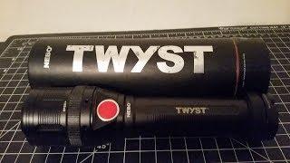 Nebo Twyst Flashlight Work light and Lantern