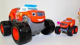 ВСПЫШ И ЧУДО МАШИНКИ Мультики #промашинки Игрушки Вспыш пожарный Видео для детей Мультфильмы Blaze