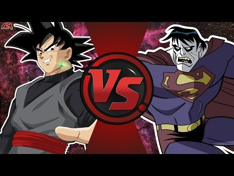 GOKU BLACK vs BIZARRO (Dragon Ball Super vs DC Comics) Cartoon Fight Club Episode 168