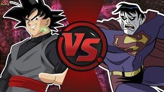 GOKU SİYAH vs BİZARRO (Dragon Ball Süper vs DC Comics) Çizgi film Dövüş Kulübü Bölüm 168
