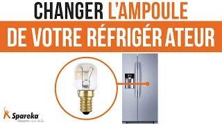 Comment changer l'ampoule de votre frigo américain Samsung ?