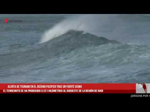 Alerta De Tsunami En El Océano Pacífico Tras Un Fuerte