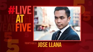 Broadway.com #LiveatFive with THE KING AND I's Jose Llana
