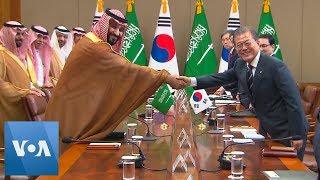 S. Korea, Saudi Sign $8 Bln Economic Cooperation Pact