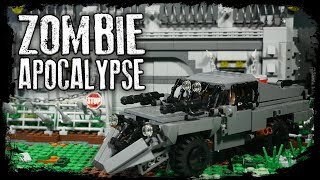 LEGO Самоделка - Машина для выживания в мире Зомби / LEGO Zombie apocalypse
