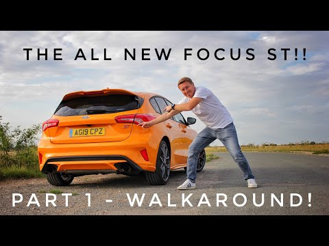 2019 Ford Focus ST Review! Part 1 **Walkaround**