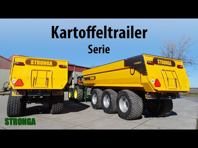 Stronga BulkLoada range of upgraded root crop trailers | An updated design