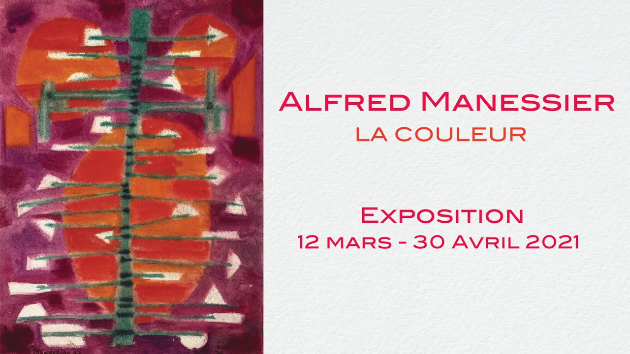 Alfred Manessier - La couleur | Exposition à la Galerie Laurentin, Paris