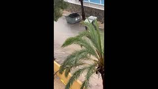 Floods in Torrevieja (Alicante) April the 20th, 2019. Inundaciones.