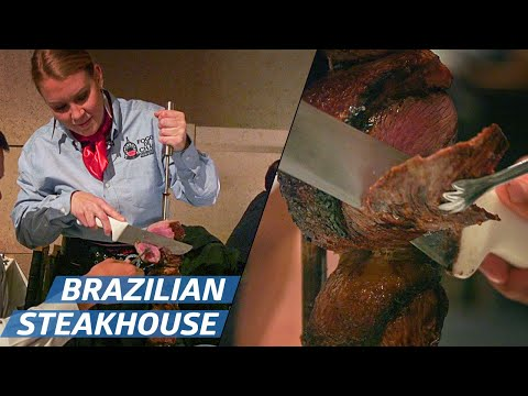 How A Brazilian Steakhouse Serves 1000 People per Night —How To Make It