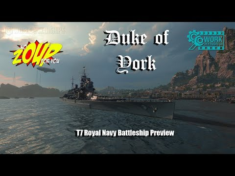 World of Warships Duke of York Preview