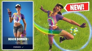 NEW BEACH BOMBER Skin Gameplay in Fortnite!