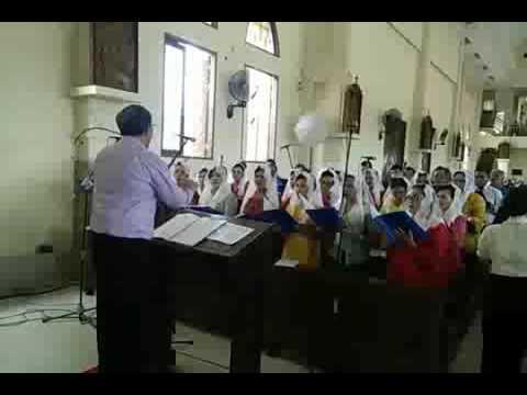 Ave Maria by Kandang Jago st Matius n st Lukas fiet komka St Yosef Bontang