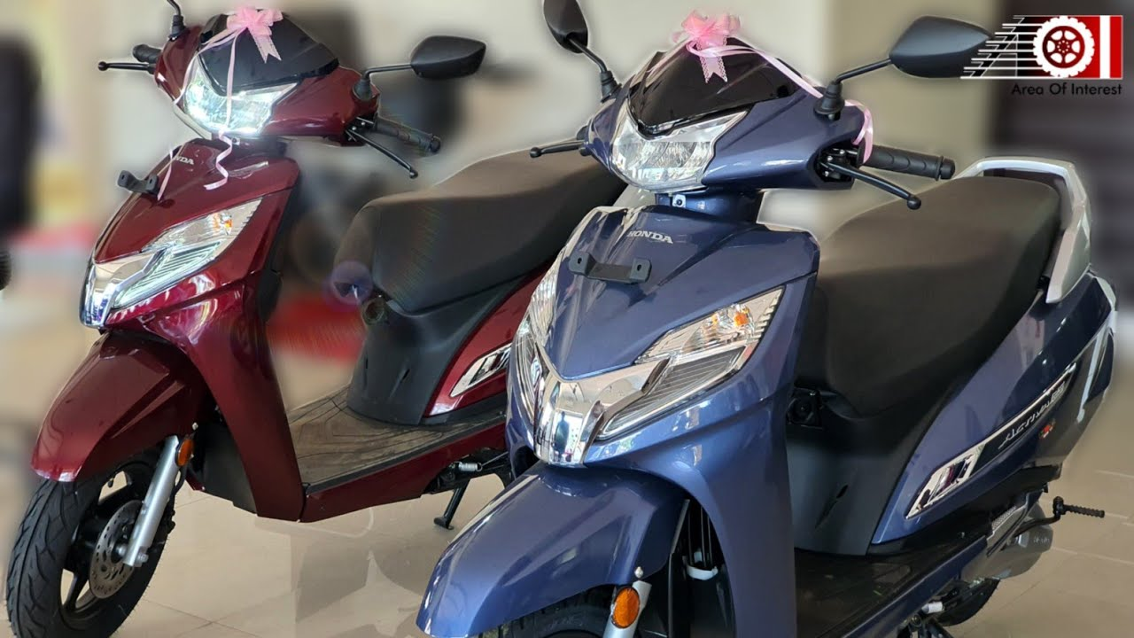 2019 Honda Activa 125 Bs6 Fi Deluxe All Colours Price Mileage Features Specs Youtube