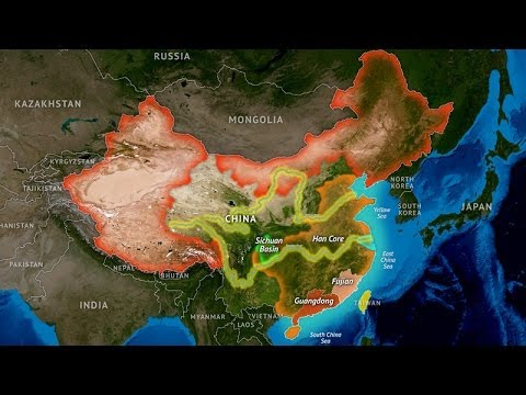 China's Geographic Challenge