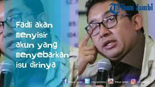 Download Video Fadli Zon Diterpa Isu Selingkuh, Ini Yang Akan Dilakukan Wakil Ketua DPR MP3 3GP MP4