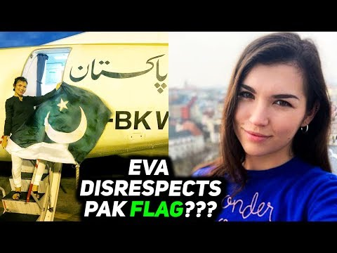Did Eva Zu Beck Disrespect Pakistan Flag in Kiki Challenge Video Shot in PIA Aircraft?
