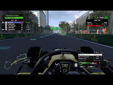PS5- CRL Academy... Race 4- Azerbaijan (End of Race)