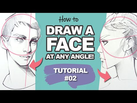 easy-way-to-draw-faces-at-any-angle!-(face-drawing-tutorial-#2)