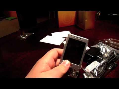 Sony Ericsson W995 Unboxing