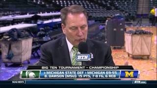 Tom Izzo Interview - 2014 Men