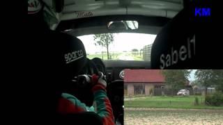 onboard Geko Ypres Rally 2012 Coene - De Duytsche