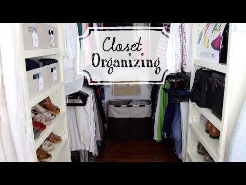 Organize Your Closet: Sharing His & Her