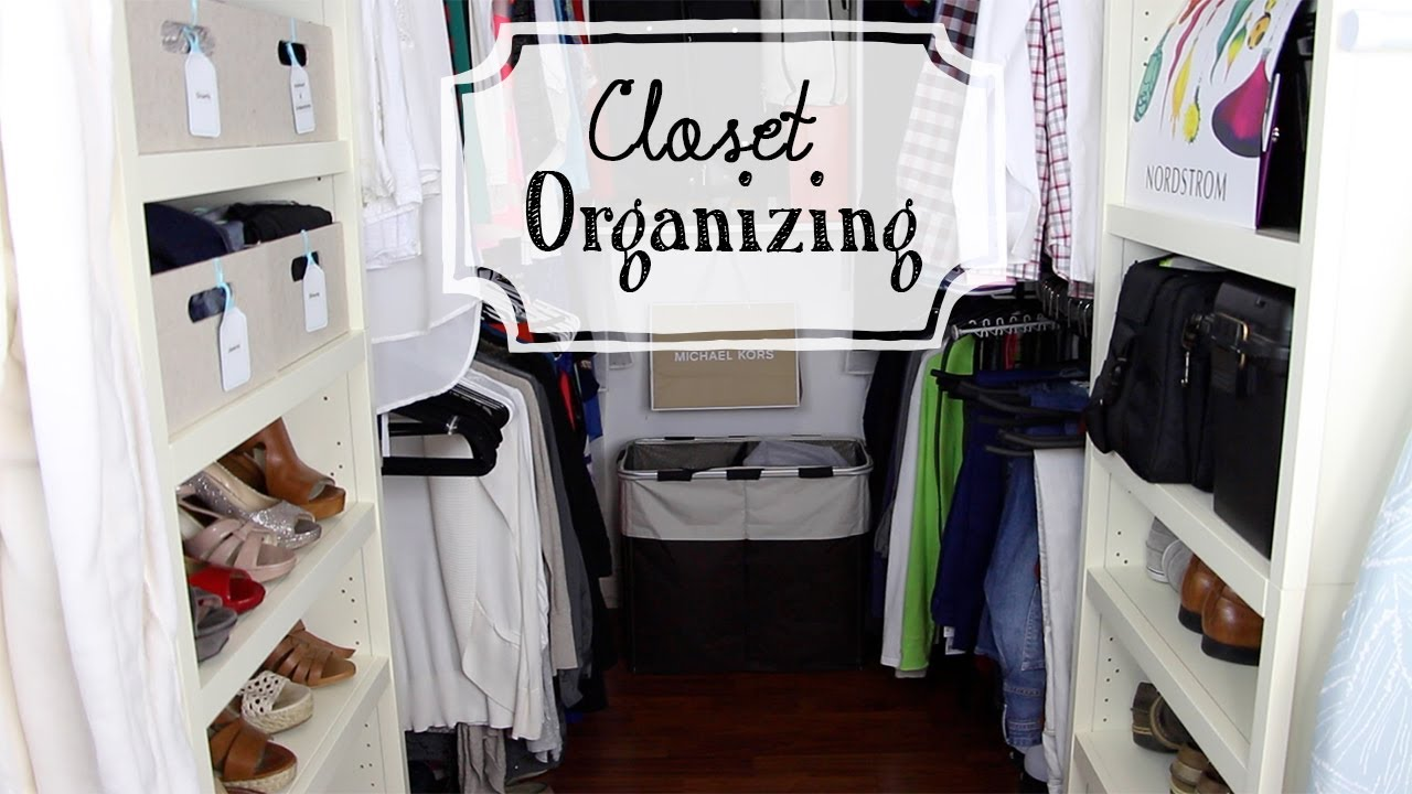 Organize Your Closet Sharing His Her Youtube