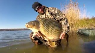 Winter carp fishing in December part 1