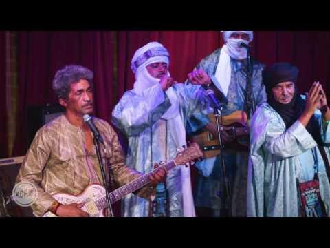 """Tinariwen performing """"Nànnuflày"""" Live on KCRW"""