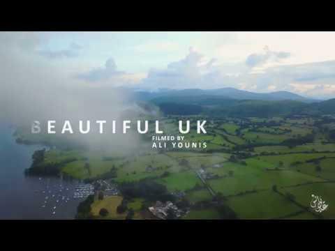BEAUTIFUL UK AN AERIAL VIEW 4K