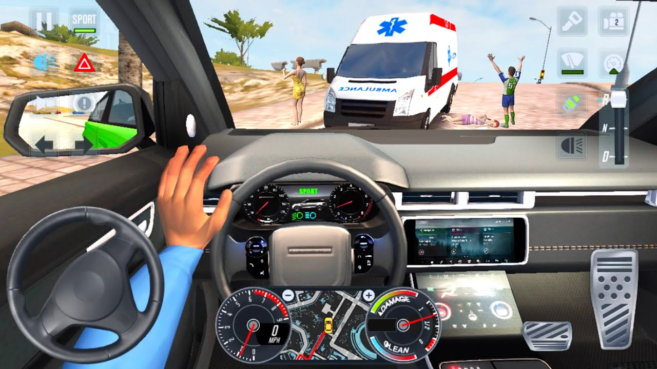 Taxi Sim 2020 🚖🚘 CAR GAME CITY UBER DRIVER - Car Games 3D Android iOS Gameplay New Game Cars Full