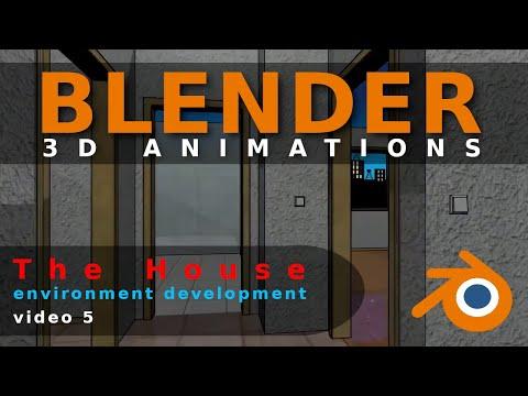 Blender Animation The House Video 5