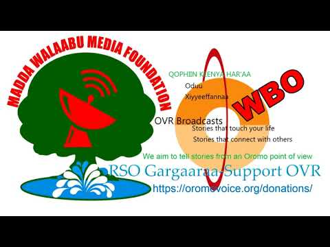 Oromo Voice Radio (OVR) Broadcasts- 19 March 2018