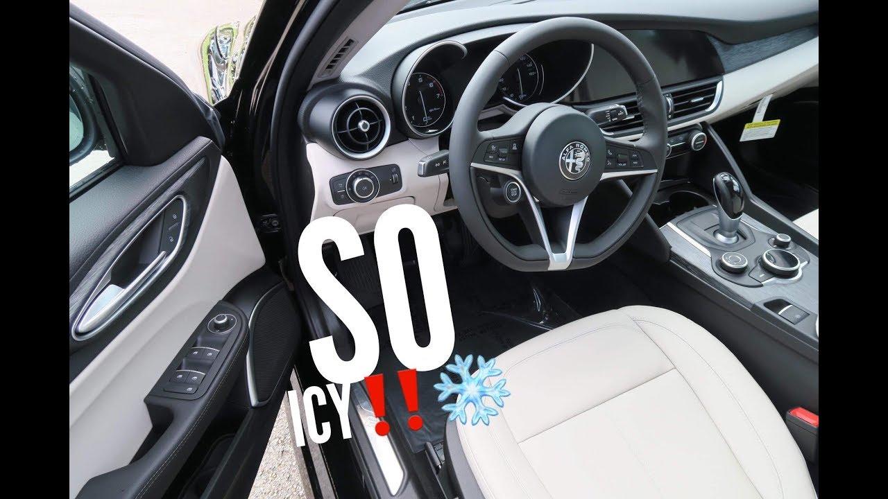 2018 Alfa Romeo Giulia >> First 2019 Alfa Romeo Giulia With Full Ice Interior! - YouTube