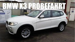 видео BMW X3 F25