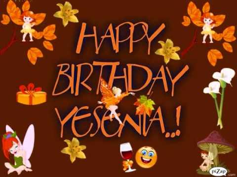 HAPPY BIRTHDAY YESENIA!!.wmv - YouTube