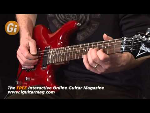 Ibanez JS100 TR Guitar Review - Demo With Danny Gill Guitar Interactive Magazine