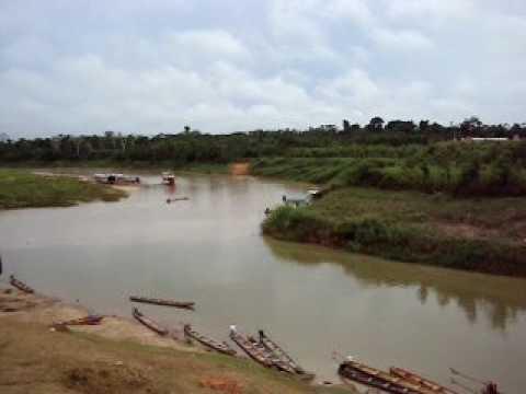 Visual do posto da PF em Marechal Thaumaturgo, extremo oeste do país, Acre.