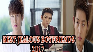 BEST KDRAMA JEALOUS BOYFRIENDS MOMENT 2017